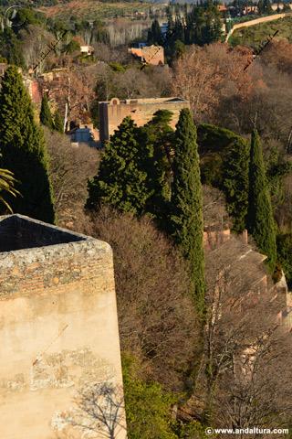 Terraza de la Torre de la Justicia desde la Torre de la Vela