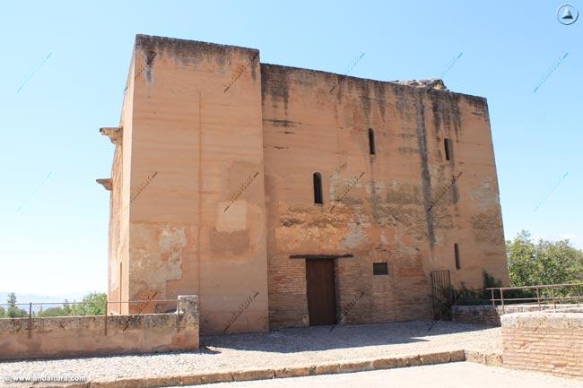 Torre de la Justicia desde la Placeta de Carlos V