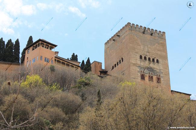 Torre del Peinador de la Reina y Palacio de Comares
