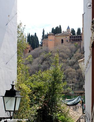 Torre del Peinador de la Reina desde San Juan de los Reyes
