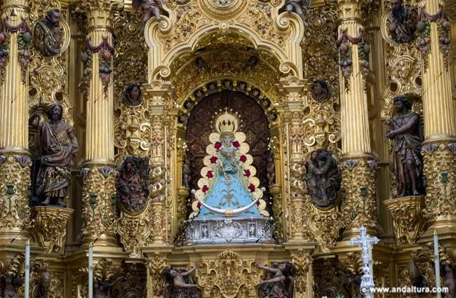 Virgen del Rocío. aldea del Rocío - Almonte -