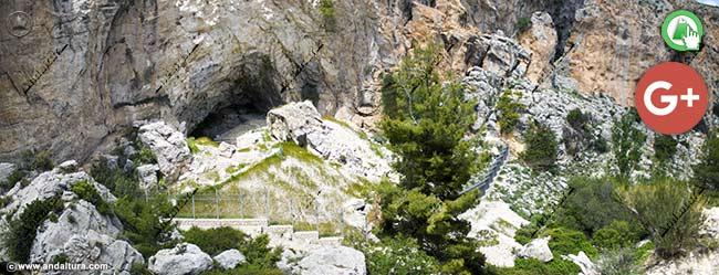 Amplia la imagen de la zona de máxima protección de la Cueva de Ambrosio