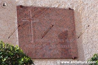 Placa Iglesia de las Virtudes de Fuente de Piedra