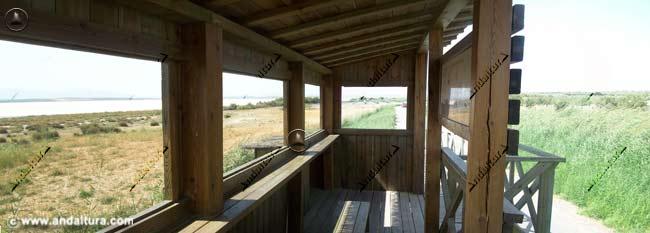 Interior del Observatorio de las Albinas