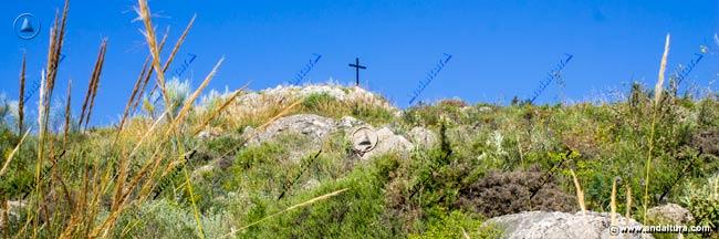 Llegando a la Cruz de la Camorra