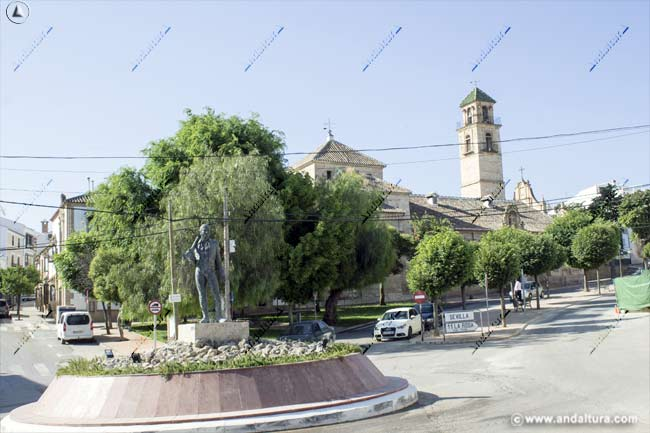 """Monumento al bandolero José María """"El Tempranillo"""""""