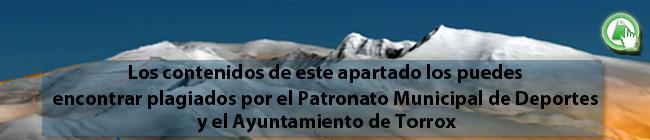 Los contenidos de la Ruta de Trevélez a 7 Lagunas están plagiados por el Ayuntamiento y el Patronato Municipal de Deportes de Torrox en un PDF