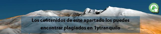 Los contenidos de la ruta de la Junta de los Ríos de Bérchules lo puedes encontrar plagiados sin nuestro permiso en la web de 1ytranquilo