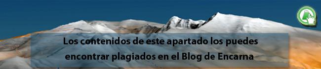 Los contenidos de la Ruta al Nacimiento del río Castril de Andaltura están plagiados en el blog de encarna sin nuestro permiso
