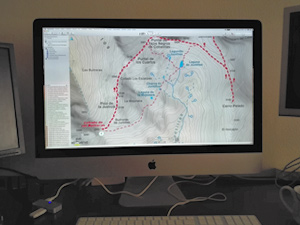 Mapas Calibrados de las Rutas de Senderismo por Andalucía Andaltura