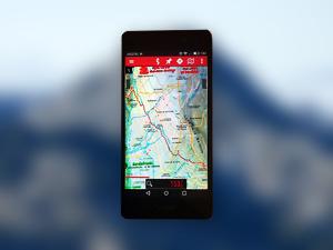 Mapas Calibrados del Sendero Sulayr de Andaltura para la app Oruxmaps