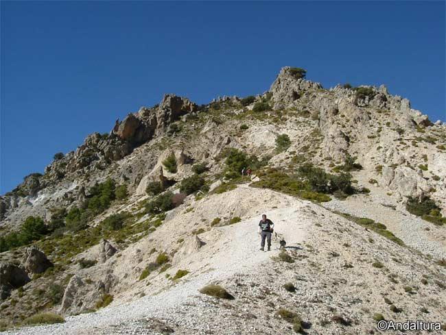 Desvío al Trevenque mientras hacemos el GR-240 Sendero de Gran Recorrido Sulayr