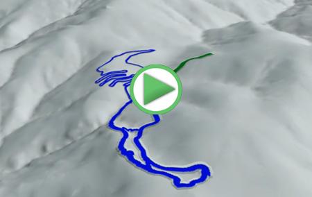 Animación sobre la Estación Recreativa Puerto de la Ragua
