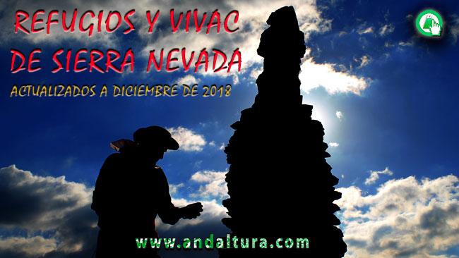 Clasificación de los Refugios y Vivac de Sierra Nevada, por su Estado, al 28 de diciembre de 2018
